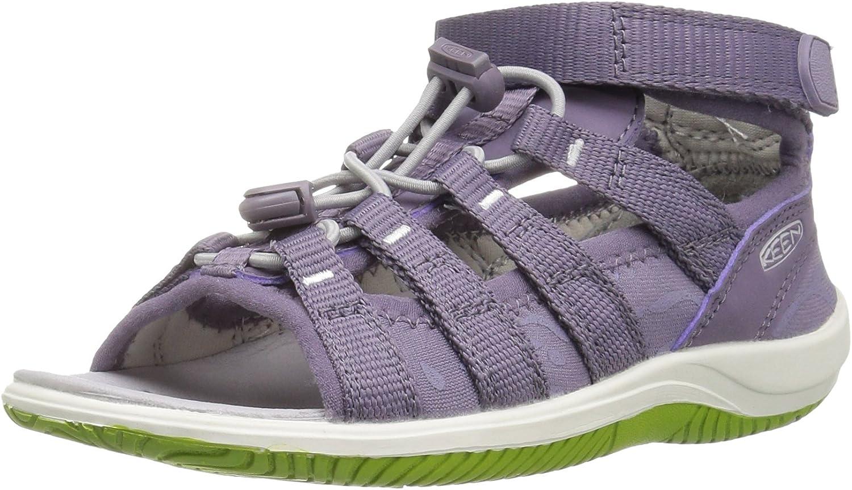 Keen Kids' Hadley-C Sandal Purple Sage Greenery 2 M US Little Kid