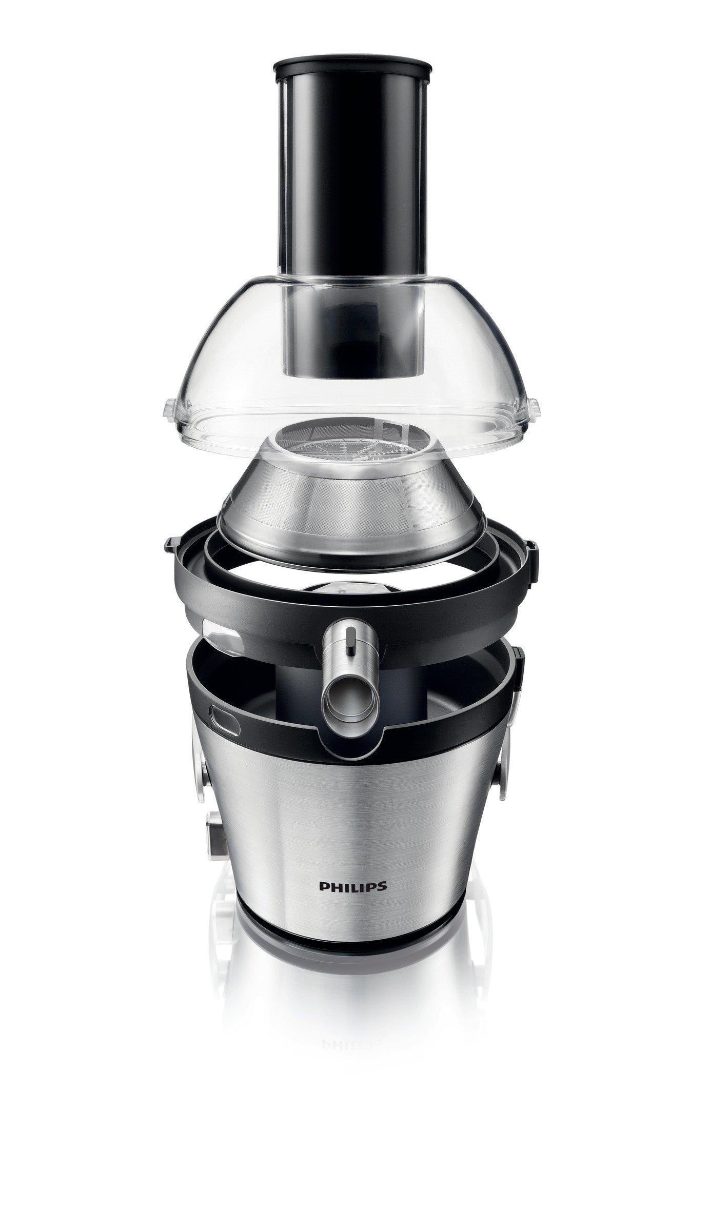 Philips HR1871/10 - Licuadora Avance Collection, 1000 W, prepara 2,5 litros de zumo de una sola vez, orificio de entrada XXL, 2 velocidades para frutas y verduras: Amazon.es: Hogar