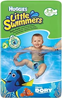 comprar comparacion Huggies Little Swimmers Swim Pants Size 3-4 (7-15kg) - 12 pairs by Huggies