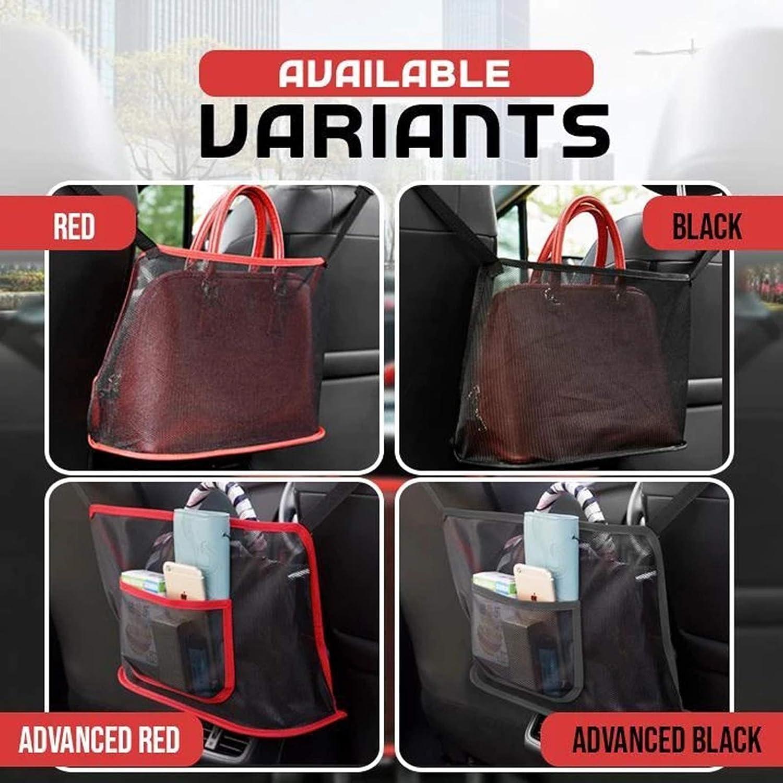 Liamostee Car Net Pocket Handbag Holder for Handbag Bag Documents Phone Valuable Items