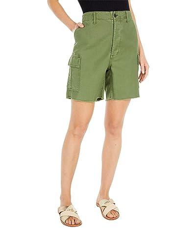 Madewell Cutoff Cargo Shorts (Palm Tree) Women