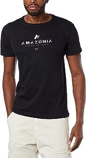 Camiseta Organic Rough Amazonia, Osklen, Masculino, ,