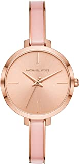 Michael Kors Women's Quartz Watch analog Display and Stainless Steel Strap, MK4343