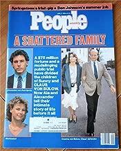 People Weekly Magazine June 17, 1985 (A Shattered Family: Sunny and Claus Von Bulow, Alexander von Auerspera & Ala Kneisal; Springsteen's Irish Gig; Don Johnson's Summer Job)