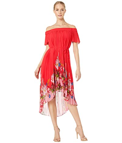 Ted Baker Gillyy Berry Sundae Bardot Dress (Red) Women