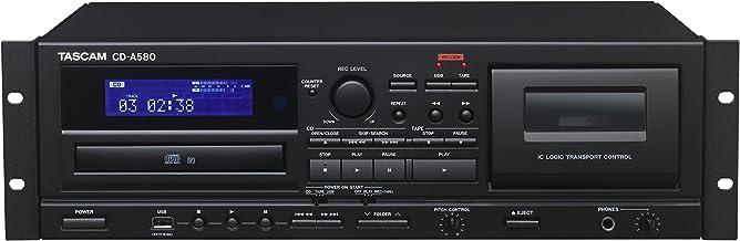 Tascam CD-A580 Rackmount Cassette/CD/USB MP3 Player Recorder Combo photo