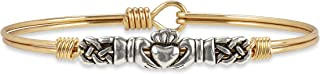 Luca + Danni Claddagh Bangle Bracelet
