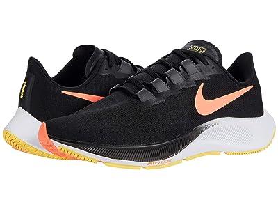 Nike Air Zoom Pegasus 37 (Black/Bright Mango/Anthracite/White) Men