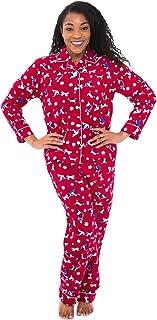 لباس خواب زنانه الکساندر دل روسا ، لباس خواب گرم فلانل ، لباس زمستانی طولانی ، پایین پنبه Pjs