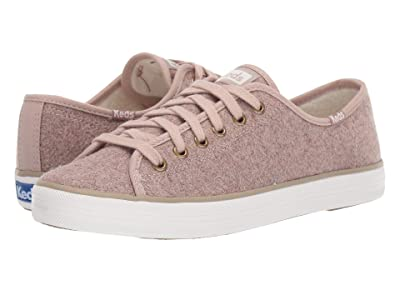 Keds Kickstart Wool/Faux Shearling CX (Tan Wool/Faux Shearling) Women