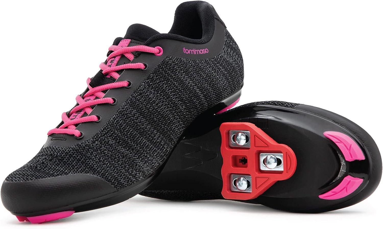 Tommaso Pista Aria Elegant Knit Women's Cycling Shoe Class Selling Ready Indoor