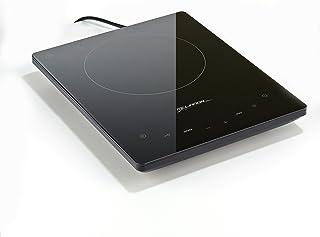 melianda MA-18500 - Placa de inducción (2000 W, Sensor táctil, Pantalla LED, vitrocerámica)
