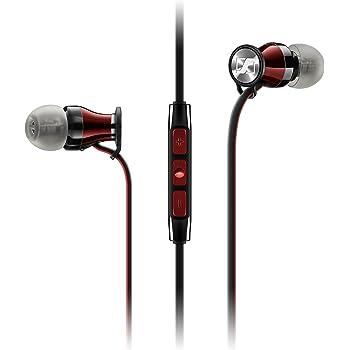 Sennheiser 506244 Cuffie Momentum in-Ear (per Samsung Galaxy) Nero/Rosso