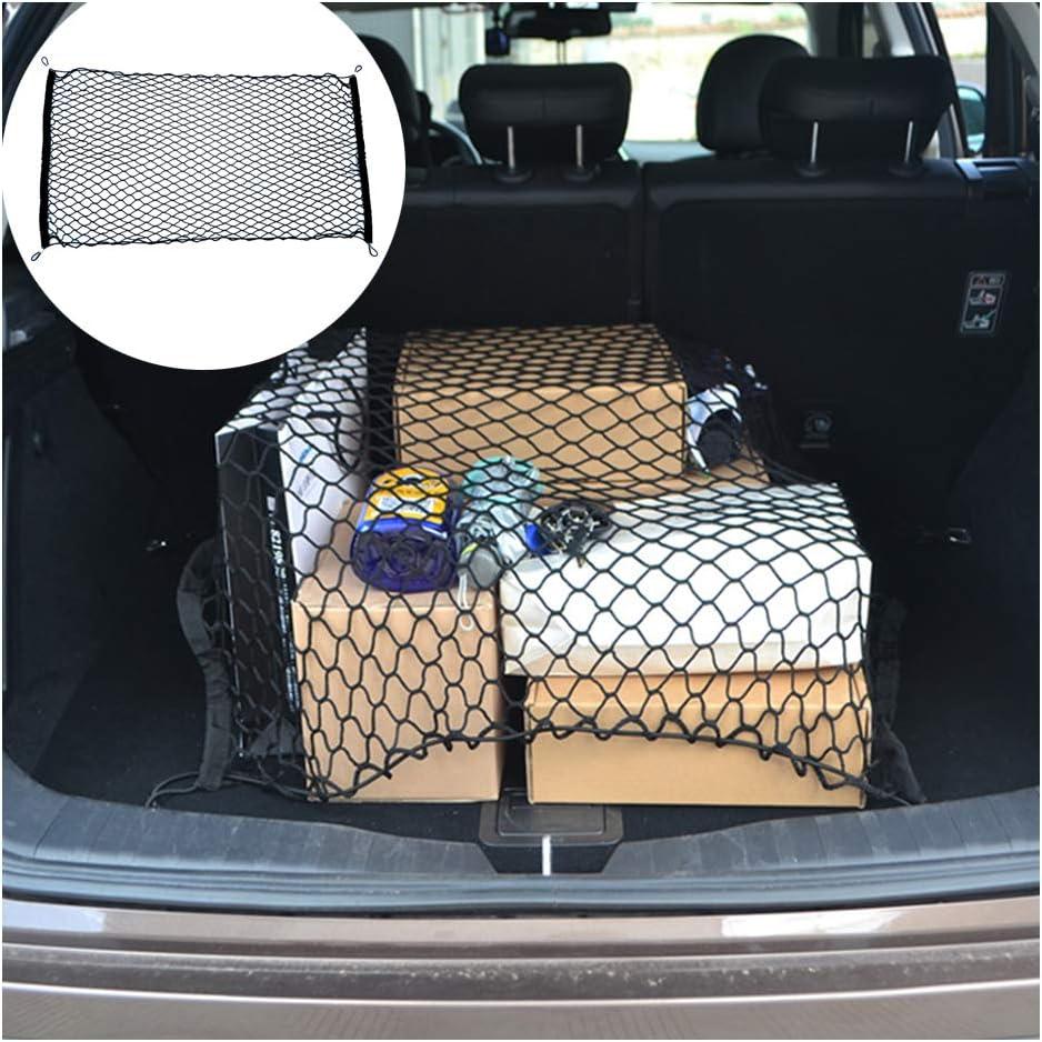 Car NEW before selling Trunk Boot String Net Elastic Nylon Tidy Rear Branded goods Stor Cargo