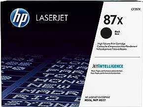HP 87X | CF287X | Toner Cartridge | Black | High Yield