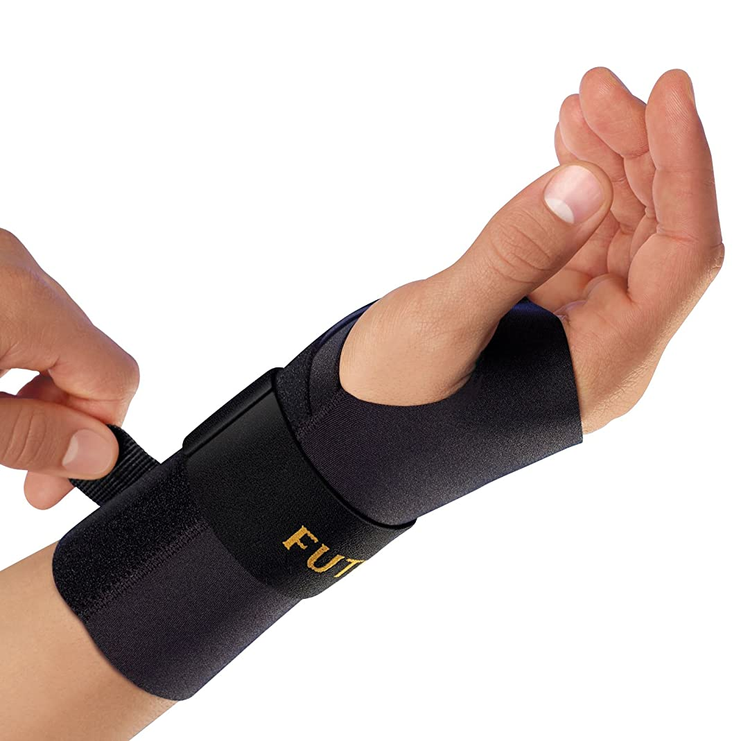 FUTURO Wrist Left Hand Compression Stabilizing Brace, Large/Extra-Large 1 ea qotn79861