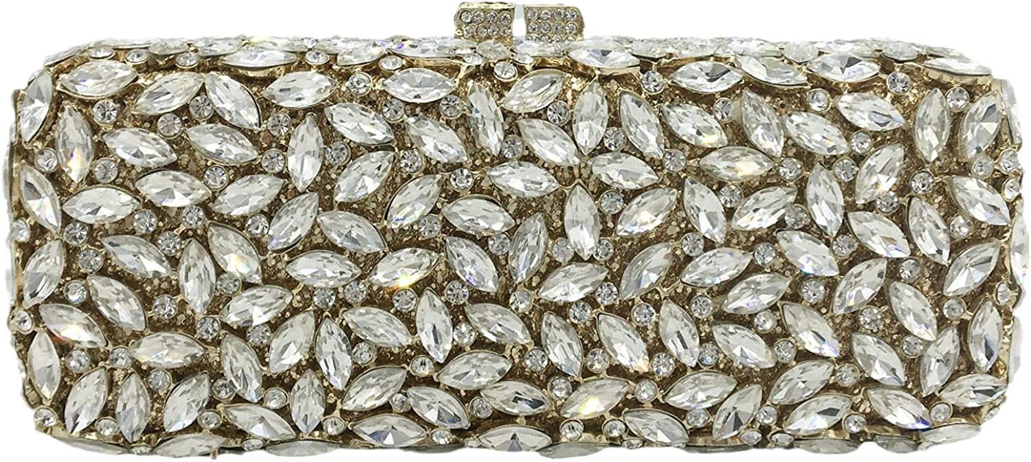 Bling Popular brand in the world Crystal Clutch Indefinitely Purses for Women We Minaudiere Handbags Box