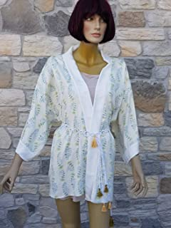 KIMONO in tessuto seta - KIMONO silk fabric