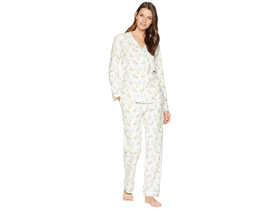 BedHead Classic Notch Collar Pajama Set (Holly