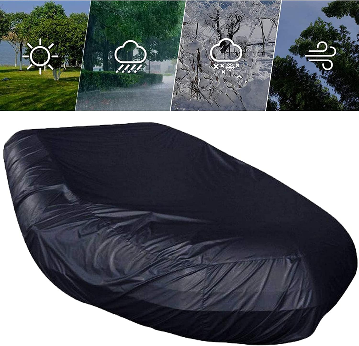 Inflatable Boat Cover Waterproof Heavy specialty shop Duty outlet Antisnow R Antidust