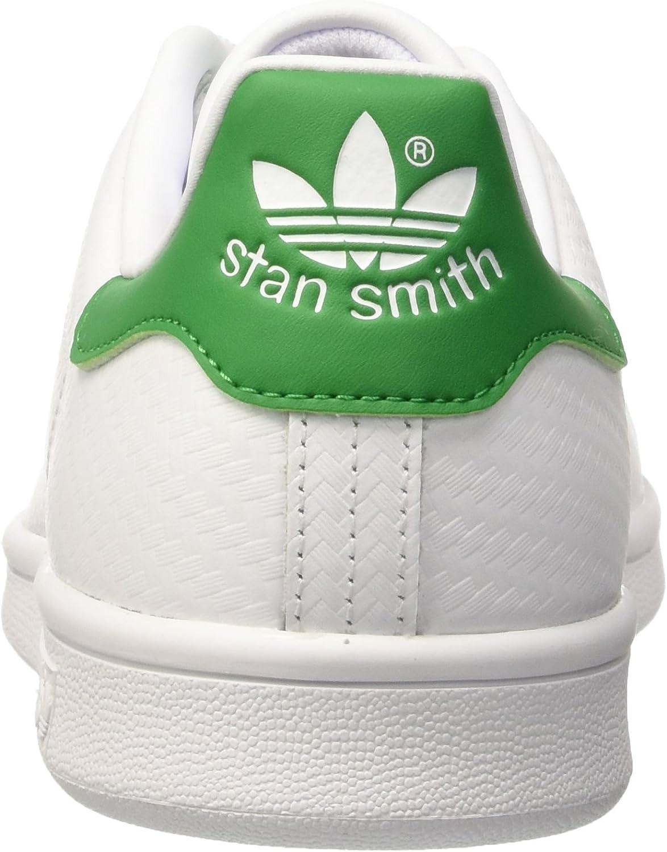 adidas Stan Smith-s80, Chaussures de Gymnastique Homme Blanc Cassé S80029 Ftwwht Ftwwht Green