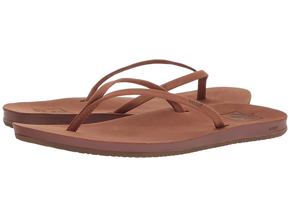 9e20611c2cbffc Reef Cushion Bounce Slim LE (Cocoa) Women s Sandals