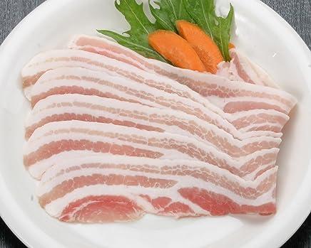 かごしま産黒豚三枚肉(しゃぶしゃぶ?約1mm) 100g