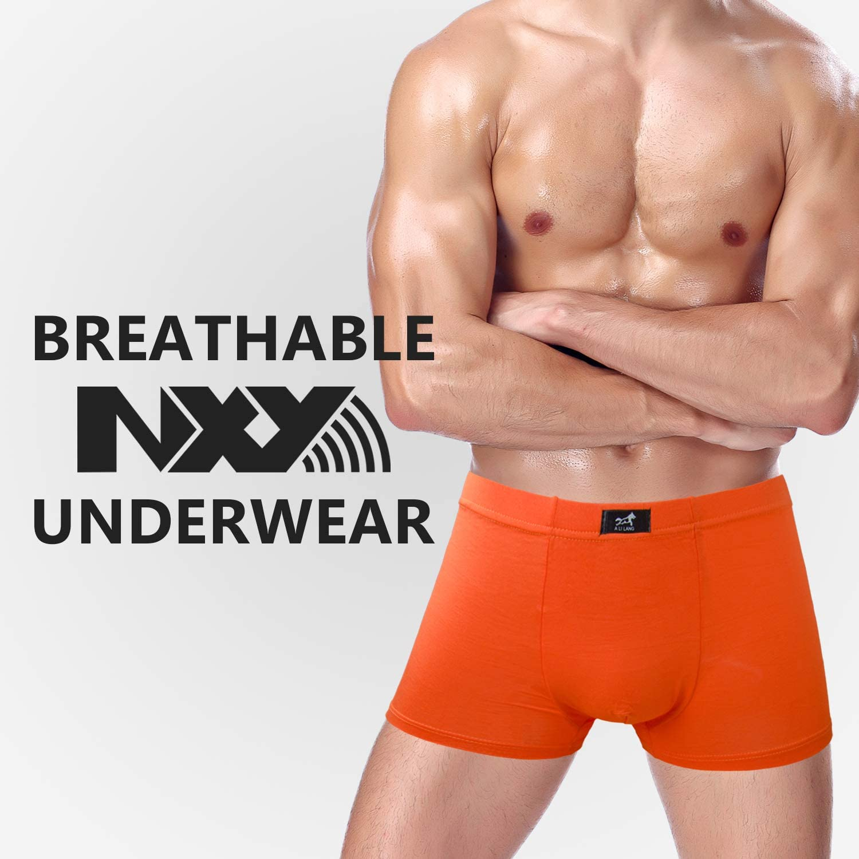 NXY Men's Breathable 7-Pack Underwear Boxer Briefs Cotton Trunks