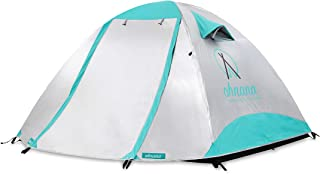 Ohnana Cool 2-Person, Heat-Blocking Rayve Tent. Perfect for Festivals, Backpacking, as Well as Beach and Family Camping.