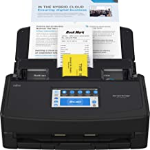 $426 » Fujitsu ScanSnap iX1600 Versatile Cloud Enabled Document Scanner for Mac and PC, Black