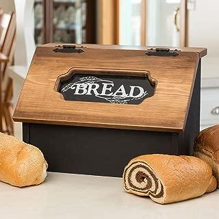Pine Hinged Bread Box