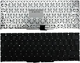 Keyboards4Laptops UK Layout Replacement Laptop Keyboard Backlit Version (Without Backlit Board) Black For Apple MacBook Air 11 Inch Late 2010, Apple MacBook Air A1370 (EMC 2393)