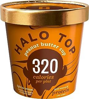 Halo Top Peanut Butter Cup, 16 oz (Frozen)