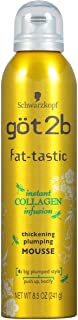 Got2B Fat-tastic Thickening Plumping Hair Mousse, 8.5 Ounce