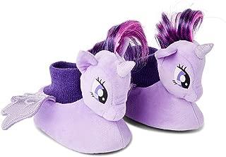 My Little Pony Little Girls Toddler Sock Top Slippers