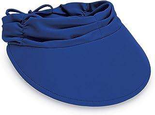 Wallaroo Hat Company Women's Aqua Sun Visor - Ready for Adventure, Designed in Australia