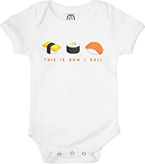 sushi onesie baby clothes
