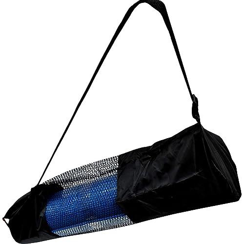 3abae532e3 BodyRip Yoga Mat Carrier Bag Nylon Mesh Adjustable Strap Washable Exercise