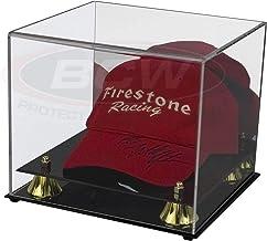 کلکسیونی Deluxe UV Acrylic Cap کلاه بیس بال نمایش مورد - با آینه