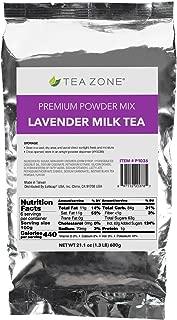 Tea Zone 1.32 lb Lavender Milk Tea Powder