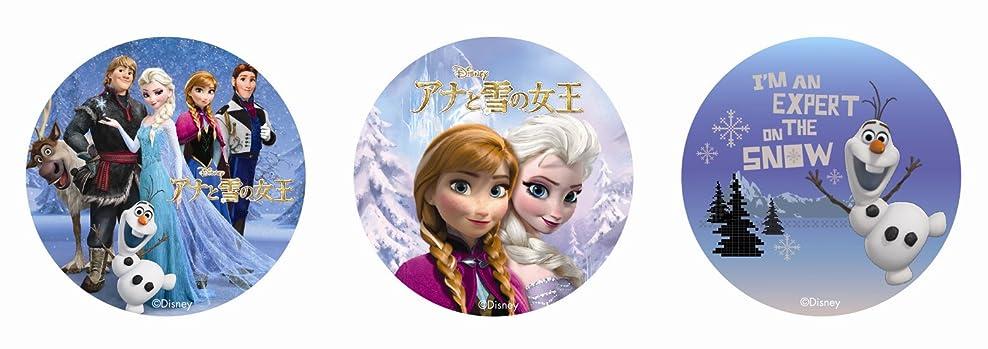 無礼に仕出します発火するアナと雪の女王 カンバッチ (3種セット)