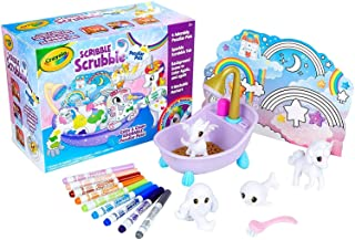 Crayola Scribble Scrubbie, Peculiar Pets Play Set,  Kids, Includes 4 Pet Figurines, Colour & Clean Adorable Little Pets, C...