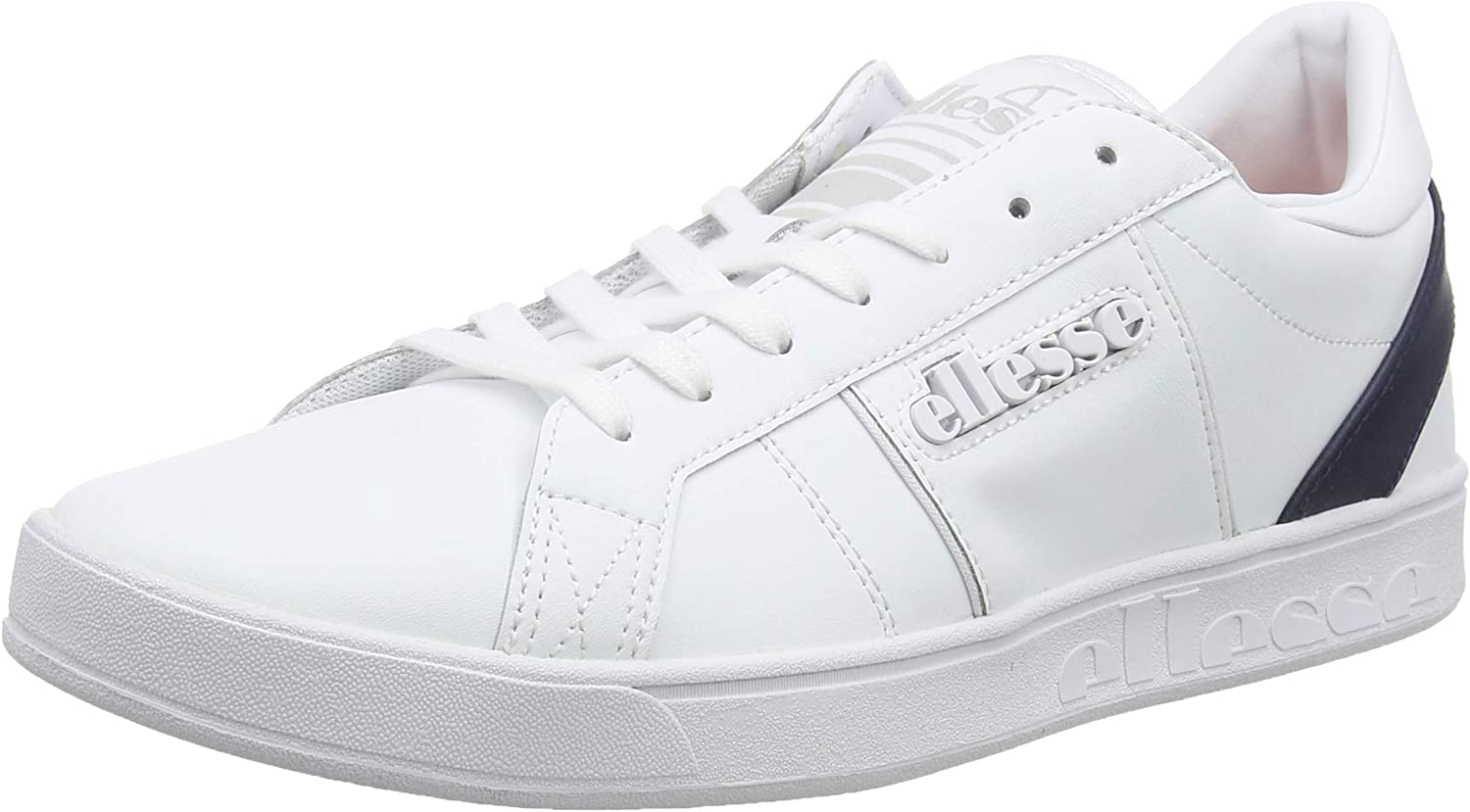 Ellesse Men's LS-80 Leather Trainers, White