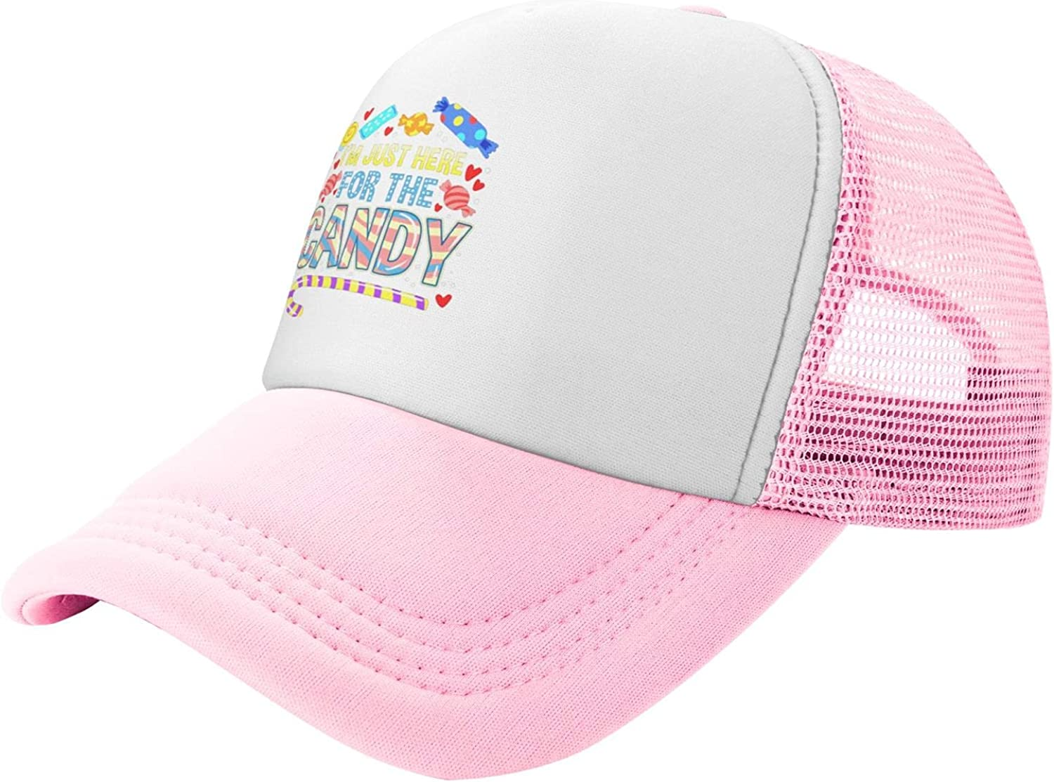Myshe Summer Manufacturer OFFicial shop Mesh Baseball OFFicial store Cap I'm for Just Funny Candy Here The