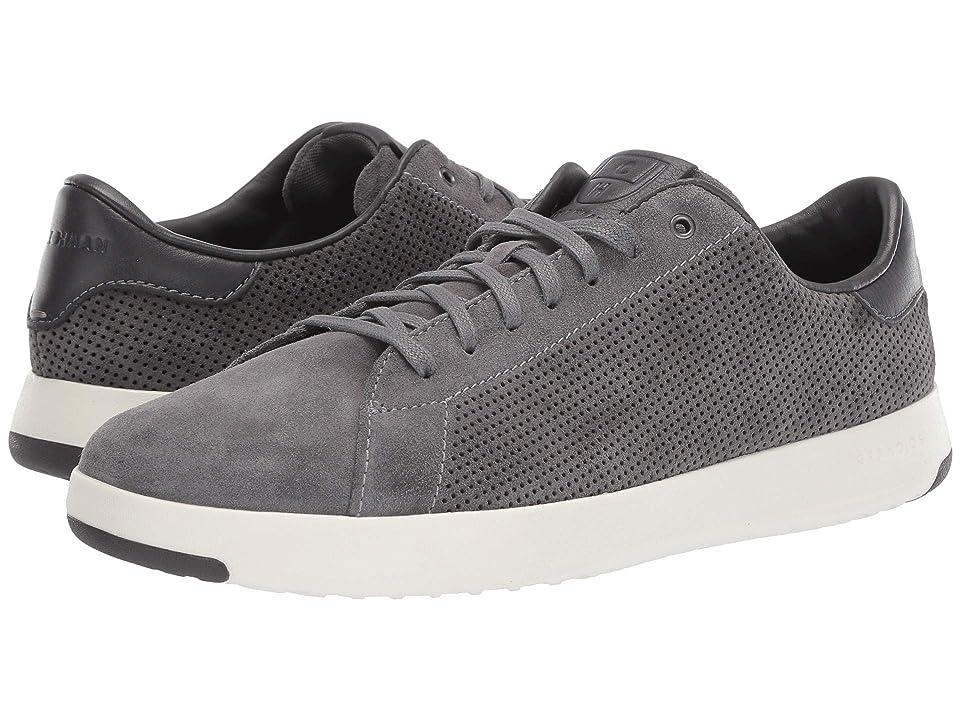 Cole Haan GrandPro Tennis Sneaker (Quiet Shade Suede Perf/Pavement) Men