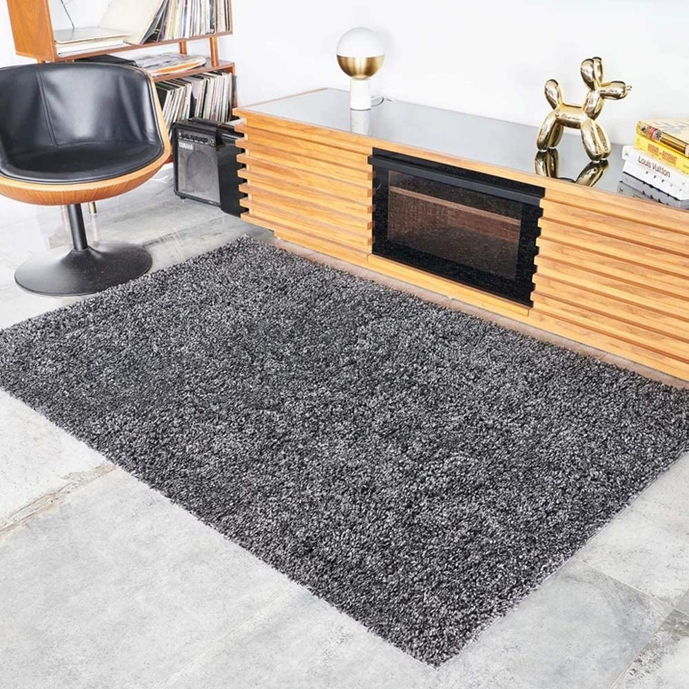 Black 当店一番人気 Area Rugs Living 特売 Room 5'x8' Indoor 8'x10' 4'x6'