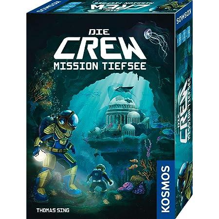 KOSMOS 680596 Die Crew - Mission Tiefsee, kooperatives Kartenspiel, für 3  bis 5 Spieler, mit Variante für Zwei Personen, Gesellschaftsspiel,  Nachfolgerspiel des Kennerspiel des Jahres 2020 Die Crew: Amazon.de:  Spielzeug