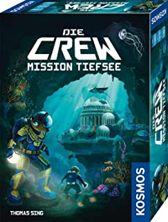 KOSMOS 680596 Die Crew Mission Deep Sea Cooperative Card Game for 3 to 5 Players with Variant for Two People Board Game Su...