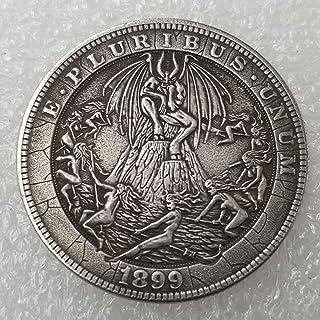 DDTing Best Morgan Silver Dollars – Moneda de níquel Hobo – 1915 Moneda de colección-