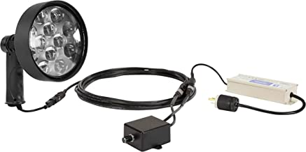 36W Dimmable LED Spotlight w/Inline Transformer - Pistol Grip - 1600' Beam - 10 Million CP